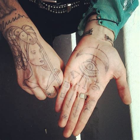 tattoo on palm of hand 84 best images about palm finger tattoos on