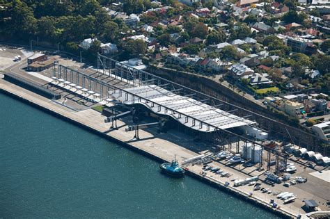 ferry oceana harbour bay white bay cruise terminal by johnson pilton walker wins