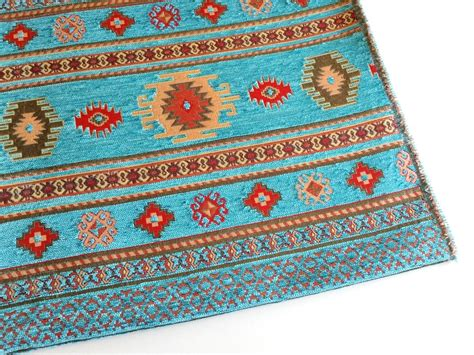 ethnic upholstery fabric ethnic tribal style chenille upholstery fabric aztec by mahzen