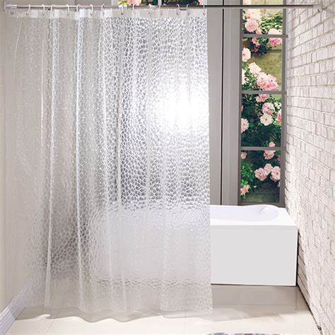 shower curtains extra long and extra wide polyester peva shower curtain plain white extra wide