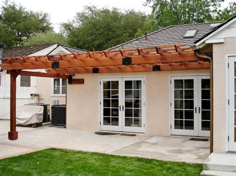 Pergola Attached To Roof Pictures Home Design Ideas Pergola Attached To House