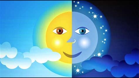 imagenes de sol y luna animadas cuento el sol y la luna youtube