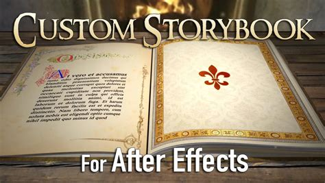 Custom 3d Fairy Tale Storybook For After Effects On Vimeo Tale Template Powerpoint