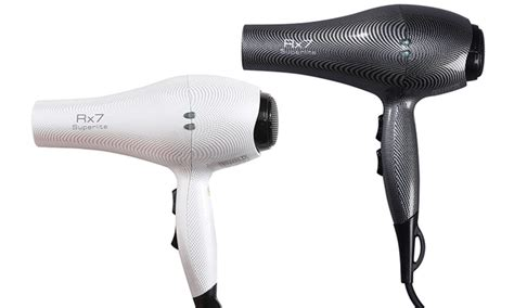 Ionic Hair Dryer Deals rx7 superlite ceramic nano ionic hair dryer groupon