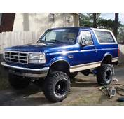 Picture Of 1996 Ford Bronco Eddie Bauer 4WD Exterior