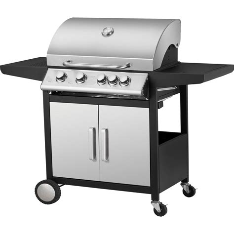 a gas barbecue a gas nashville 4 1 fuochi acquista da obi