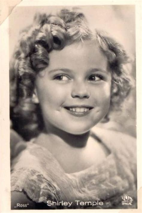like shirley shirley temple 1930s i wanted hair just like hers and my