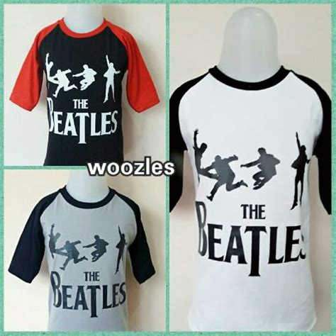 Kaos Anak The Beatles kaos anak karakter woozles the beatles grosir baju anak