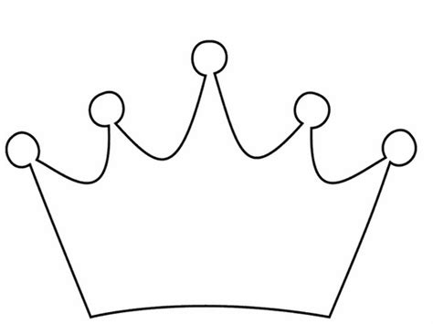 crown template black and white princess crown clipart free free images at clker com