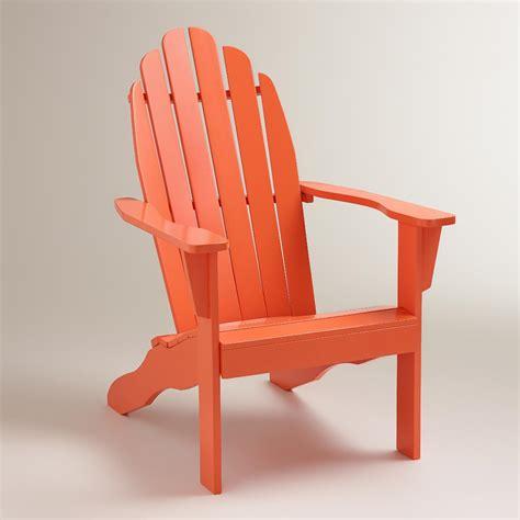 Adirondack Chairs World Market by Koi Orange Classic Adirondack Chair World Market