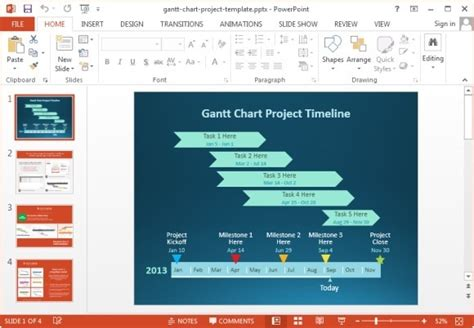10 Best Gantt Chart Tools Templates For Project Management Powerpoint Gantt Chart Template Free