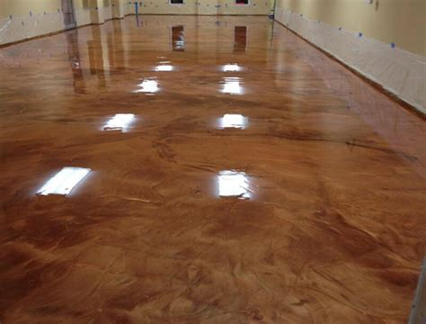 Epoxy Floor by Metallic Marble Concrete Epoxy Flooring Pcc Columbus Ohio