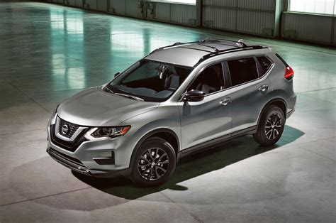 nissan rogue midnight edition nissan announces midnight edition package for 6 models