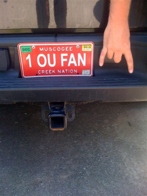 Steelers Vanity Plate Ideas 307 Best Images About Ou Sooners On Football