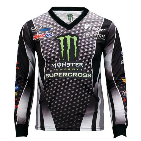 monster motocross jersey monster energy supercross black jersey