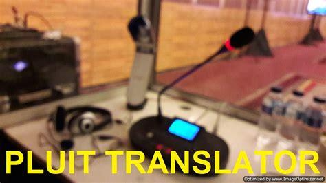 Harga Alat Penerjemah Bahasa by Alat Interpreting Simultan Sis Pluit Alat Interpreter