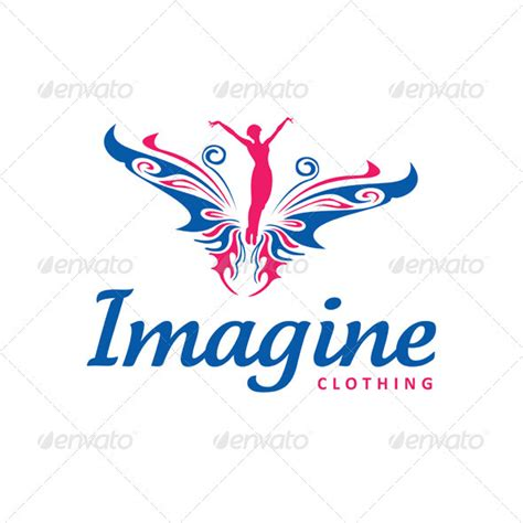 Fashion Logo Template imagine clothing graphicriver