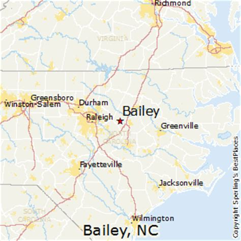 best places to live in bailey, north carolina