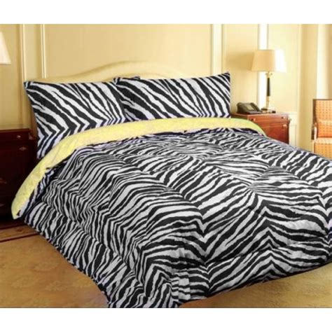 zebra print bedding mayfield 200 thread count zebra print reversible comforter