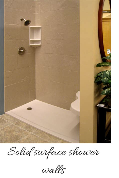 bathroom shower wall options how to compare grout free shower and tub wall panels