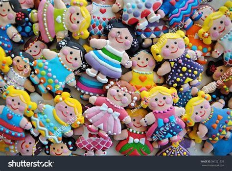 by littlecookiecom little cookie dolls cookies girls celebration stock photo
