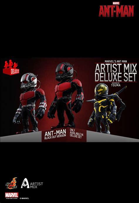 Figure Captain America Robocop Batman Set S4c ant artist mix collectible set artist mix marvel