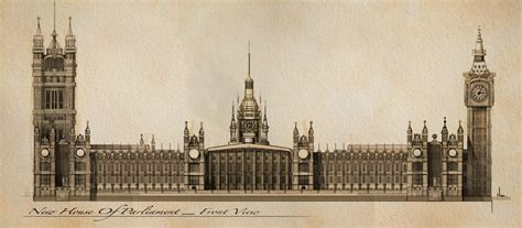 great london buildings the palace of westminster the westminster palace 1839 1860 london england