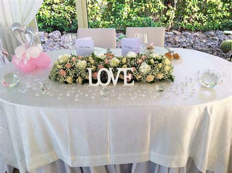 allestimento tavolo sposi tavolo romantico degli sposi allestimento tavoli