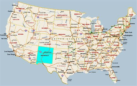 map new usa new mexico map usa choice image diagram writing sle