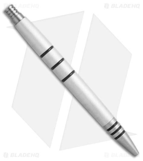 bead blasted aluminum tuff writer mini click series bead blast aluminum