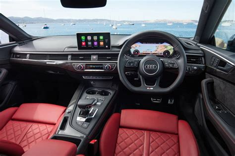 Audi S5 Interior 2017 audi a5 s5 now on sale in australia from 69 900