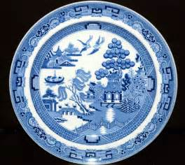Plate Patterns by Wedgwood Etruria Willow Pattern 10 Decorative Plate