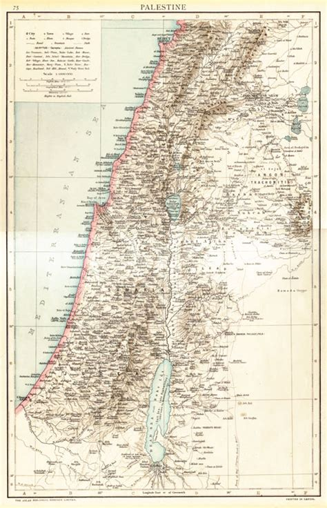 ottoman rule of palestine palestine or the holy land map during the ottoman period