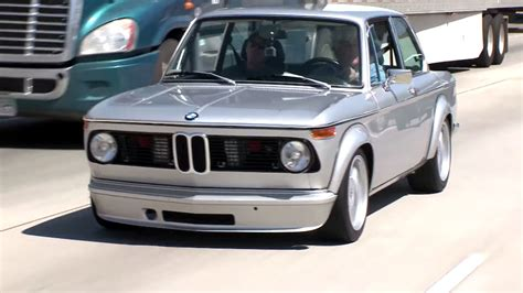 2002 M3 Engine by Leno Welcomes Bmw 2002 With M3 Engine Into His Garage