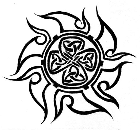 celtic sun tattoo designs the black tattoos celtic tattoos