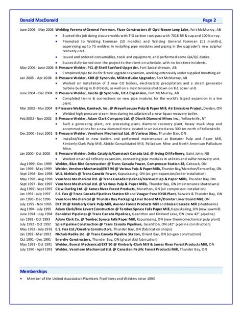 Donald Resume by Macdonald Donald Resume Letter Rev1