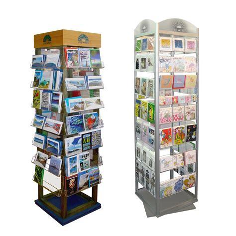 card display custom rotating greet card display
