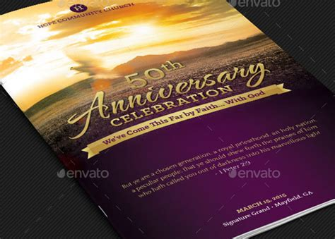 Anniversary Archives Inspiks Market Church Anniversary Program Template