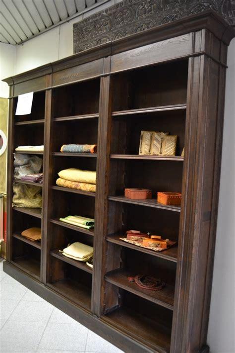 libreria legno massello complemento libreria etnica classico complementi a