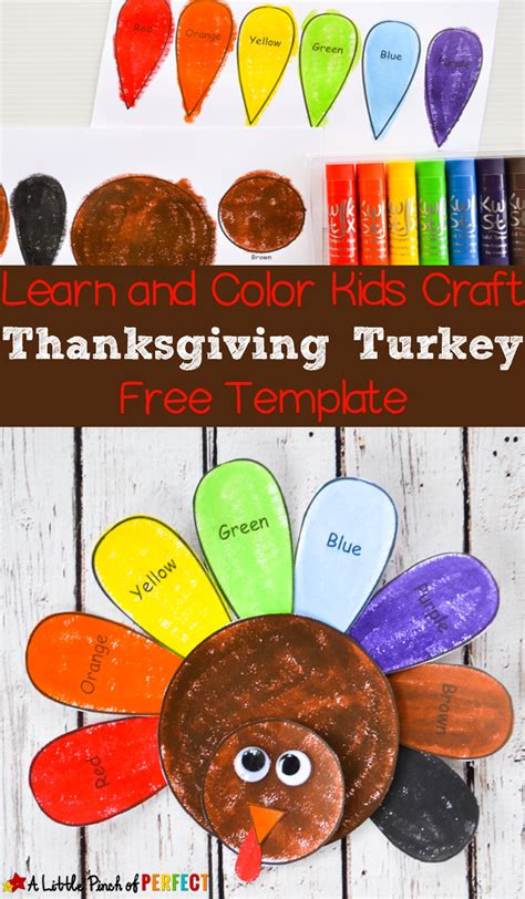 free thanksgiving craft ideas for learn and color thanksgiving turkey craft and free