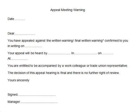 Response Letter To Written Warning warning letter format letter format 2017