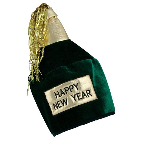 how to make new year hats happy new year bottle hat