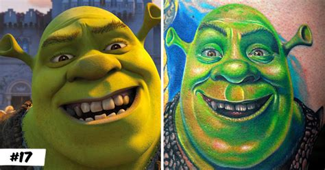 shrek tattoo top 20 tattoos inspired by characters