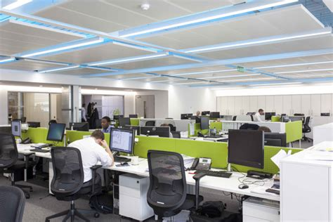 cool office lighting hoare lea lighting office london uk 187 retail design blog