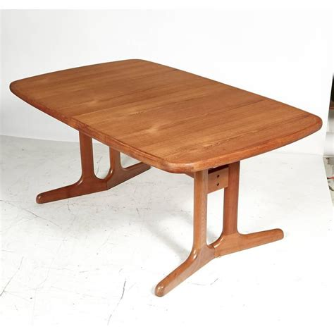 teak dining room tables danish teak dining room table 1970s for sale at 1stdibs