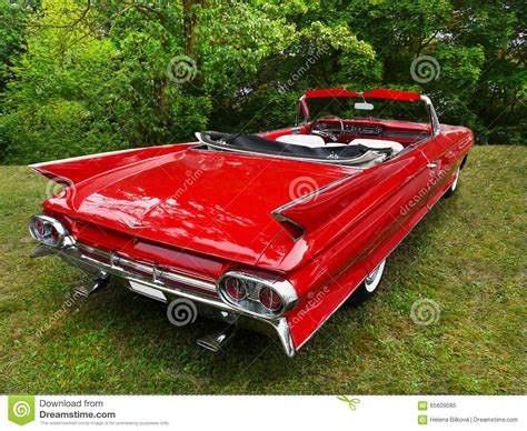 cadillac automobile classic 1961 cadillac automobile editorial photo