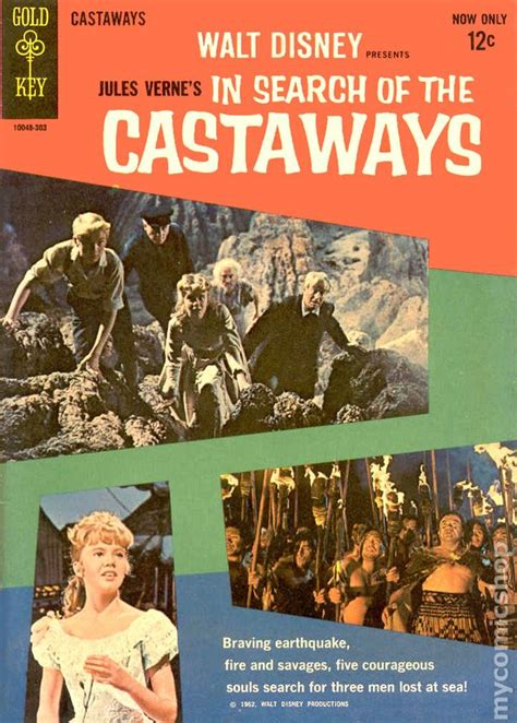 the castaways in search of the castaways 1962 movie comics comic books