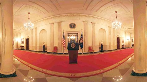 obama white house tour as obama leaves he leads tour of quot the people s quot white house in new 360 degree video fast