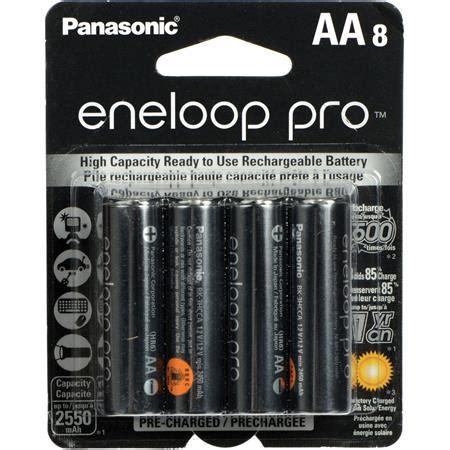 Sale Panasonic Charger Batt Eneloop Aa2s panasonic eneloop pro aa 2550mah nimh rechargeable battery 8 pack bk 3hcca8ba