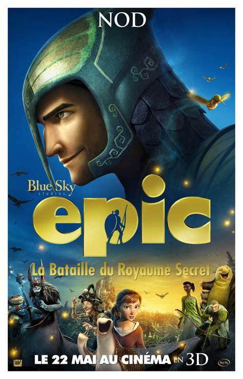 film epic avis epic la bataille du royaume secret la critique du